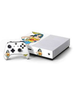 Wonder Woman Xbox One S Console and Controller Bundle Skin