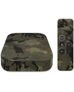 Wood Camo Apple TV Skin