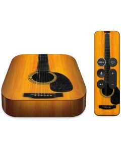 Wood Guitar Apple TV Skin