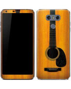 Wood Guitar LG G6 Skin