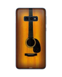 Wood Guitar Galaxy S10e Skin