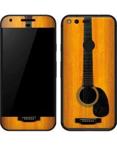 Wood Guitar Google Pixel Skin