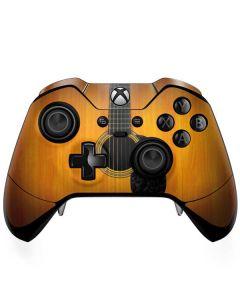 Wood Guitar Xbox One Elite Controller Skin