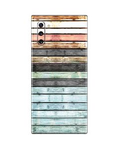 Wooden Stripes Galaxy Note 10 Skin
