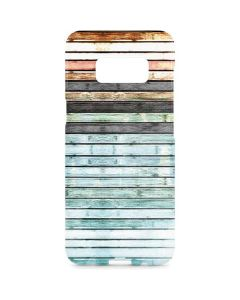 Wooden Stripes Galaxy S8 Plus Lite Case