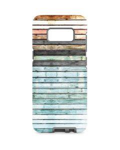Wooden Stripes Galaxy S8 Pro Case