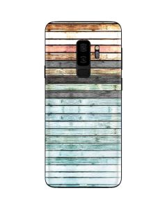 Wooden Stripes Galaxy S9 Plus Skin