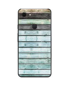 Wooden Stripes Google Pixel 3 XL Skin