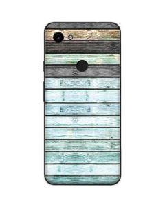 Wooden Stripes Google Pixel 3a Skin