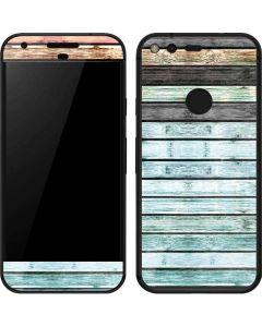 Wooden Stripes Google Pixel Skin