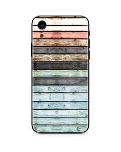 Wooden Stripes iPhone XR Skin