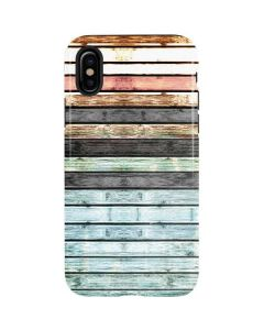 Wooden Stripes iPhone XS Pro Case