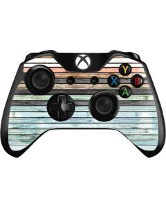 Wooden Stripes Xbox One Controller Skin