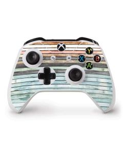 Wooden Stripes Xbox One S Controller Skin