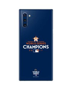 World Series Champions 2017 Houston Astros Galaxy Note 10 Skin