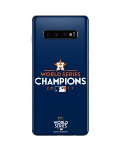 World Series Champions 2017 Houston Astros Galaxy S10 Plus Skin