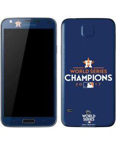 World Series Champions 2017 Houston Astros Galaxy S5 Skin