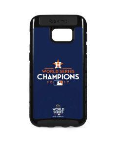 World Series Champions 2017 Houston Astros Galaxy S7 Edge Cargo Case