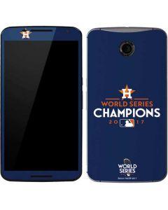 World Series Champions 2017 Houston Astros Google Nexus 6 Skin