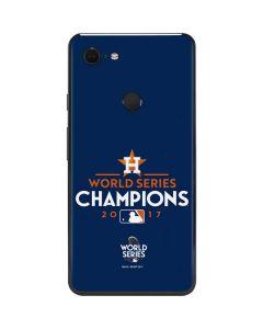 World Series Champions 2017 Houston Astros Google Pixel 3 XL Skin