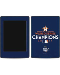 World Series Champions 2017 Houston Astros Amazon Kindle Skin