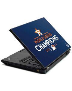 World Series Champions 2017 Houston Astros Lenovo T420 Skin