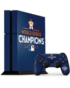 World Series Champions 2017 Houston Astros PS4 Console and Controller Bundle Skin