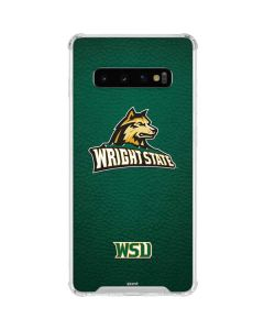 Wright State Galaxy S10 Clear Case