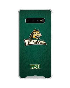 Wright State Galaxy S10 Plus Clear Case