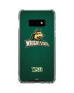 Wright State Galaxy S10e Clear Case