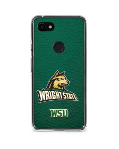 Wright State Google Pixel 3a XL Clear Case