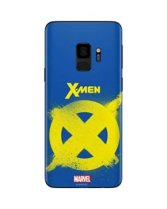 X-Men Logo Yellow Galaxy S9 Skin