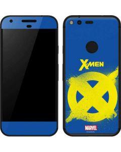 X-Men Logo Yellow Google Pixel Skin