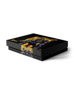 X-Men Wolverine Xbox One X Console Skin