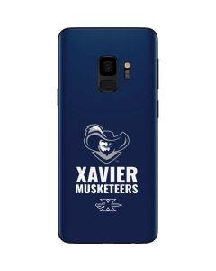 Xavier Musketeers Mascot Blue Galaxy S9 Skin