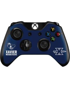 Xavier Musketeers Mascot Blue Xbox One Controller Skin