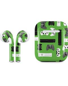 Xbox Pattern Apple AirPods Skin