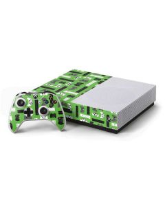 Xbox Pattern Xbox One S Console and Controller Bundle Skin
