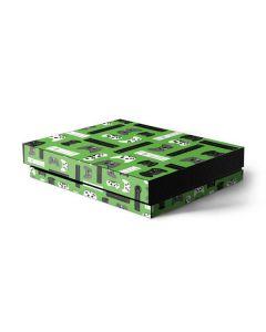 Xbox Pattern Xbox One X Console Skin