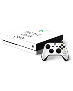 Custom Xbox One X Bundle Skin