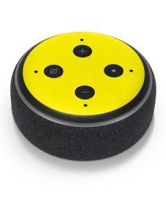 Yellow Amazon Echo Dot Skin
