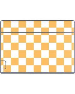 Yellow and White Checkerboard Galaxy Book Keyboard Folio 12in Skin