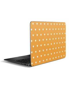 Yellow and White Hearts Zenbook UX305FA 13.3in Skin