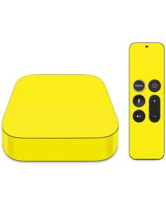 Yellow Apple TV Skin