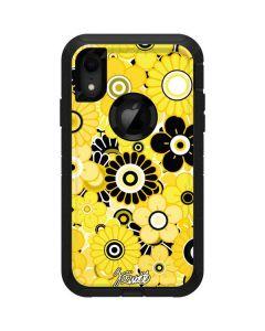 Yellow Flowerbed Otterbox Defender iPhone Skin