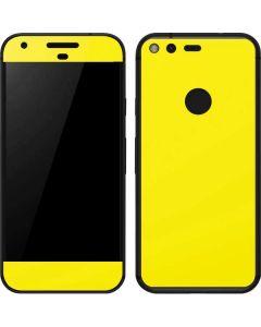 Yellow Google Pixel Skin
