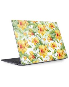 Yellow Hibiscus Surface Laptop 2 Skin