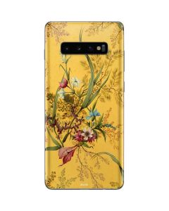 Yellow Marble End by William Kilburn Galaxy S10 Plus Skin