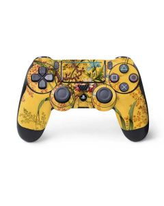 Yellow Marble End by William Kilburn PS4 Pro/Slim Controller Skin