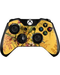 Yellow Marble End by William Kilburn Xbox One Controller Skin